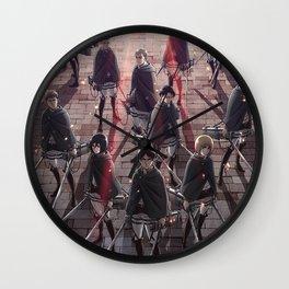 Shingeki Wall Clock