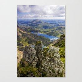 Top Of Snowdon Canvas Print