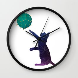 Universal kitty Wall Clock