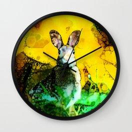 Flight or Fright Wall Clock