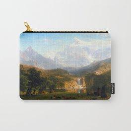 Albert Bierstadt Rocky Mountains at Lander's Peak Carry-All Pouch