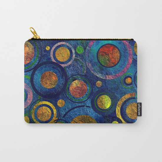 Full of Golden Dots - color variation Carry-All Pouch
