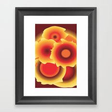 GIRASOLES Framed Art Print
