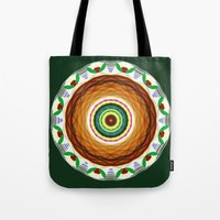cake Tote Bags featuring Cake by Ordiraptus