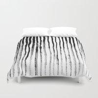 stripe Duvet Covers featuring Stripe by Jack Newbury