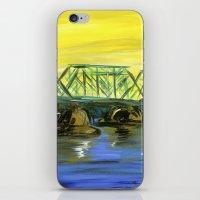 New Hope-Lambertville Bridge iPhone & iPod Skin