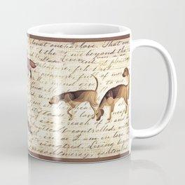 Foxhunt print long Coffee Mug