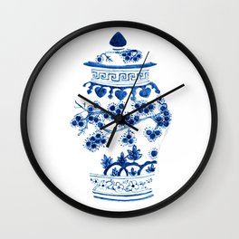 Ginger Jar II Wall Clock