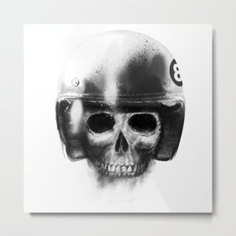 death racer Metal Print
