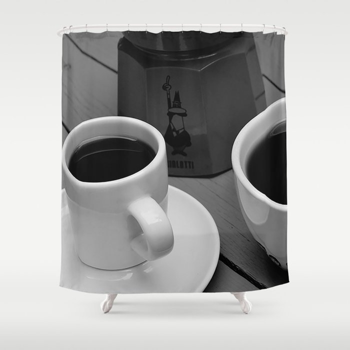 Coffe for two Shower Curtain