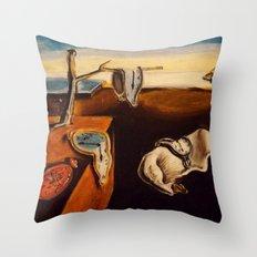 Salvador Dali - The Persistence of Memory Throw Pillow
