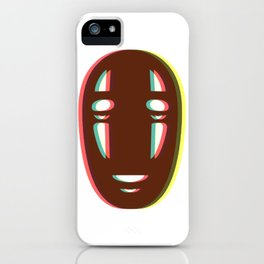 Kaonashi - No Face iPhone Case