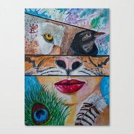 Shapeshifting Canvas Print