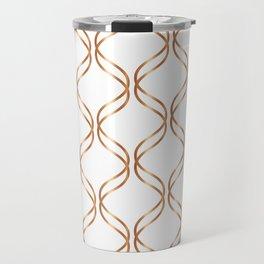 Double Helix - Rose Gold #676 Travel Mug