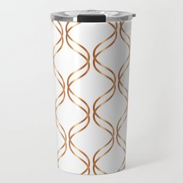 Double Helix - Rose Gold #676 Travel Mug