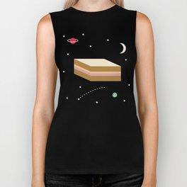 Ham & Cheese in Space Biker Tank