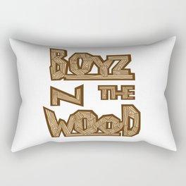 boyz n the wood Rectangular Pillow