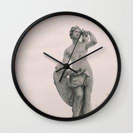 Roman statue Wall Clock