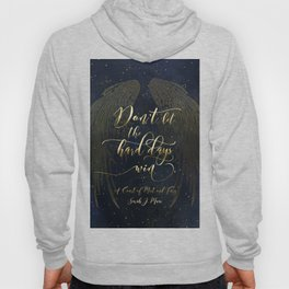 Don't let the hard days win. A Court of Mist and Fury (ACOMAF) Hoody
