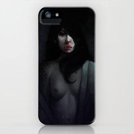 Portrait of Ikuko's Ghost iPhone Case