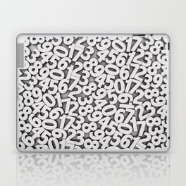 By the numbers Laptop & iPad Skin