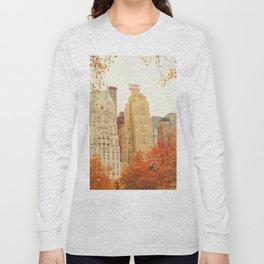 Autumn - Central Park - Fall Foliage - New York City Long Sleeve T-shirt