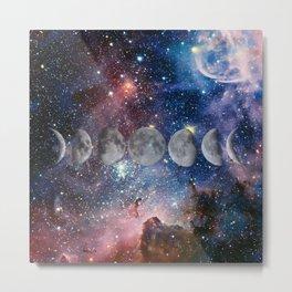 Cosmic Celestial Cycle Metal Print