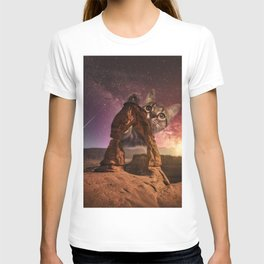 Space Cat Arch 1 T-shirt