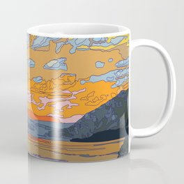 SUN SET Coffee Mug