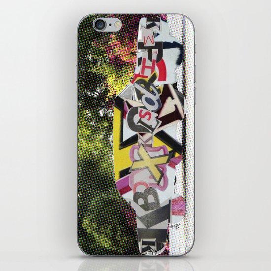 LetterCar / mobile BuchStabenSalat 3 iPhone & iPod Skin