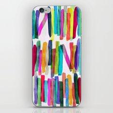 Colorful Stripes 5 iPhone & iPod Skin