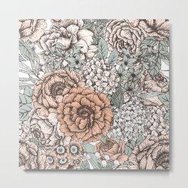 Floral Pattern 16 Metal Print