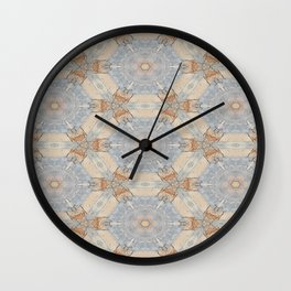 The Alamo Kaleidoscope DNA 6390 Wall Clock