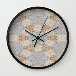 The Alamo Kaleidoscope DNA 6390 Wall Clock