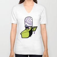 jojo V-neck T-shirts featuring Marki JoJo by maun