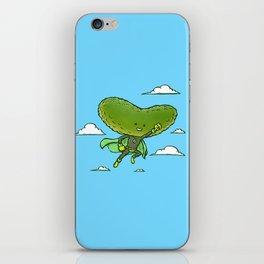 The Super Pickle iPhone Skin