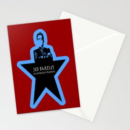 Jed Bartlet - An American President  Stationery Cards