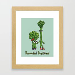 Broccolini Boyfriend Framed Art Print