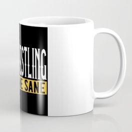 Arm Wrestling Gift Idea Design Motif Coffee Mug