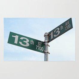 At a Crossroads Rug