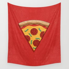 FAST FOOD / Pizza Wall Tapestry