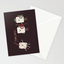 Turn Back Stationery Cards