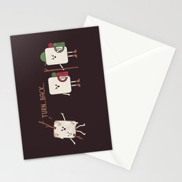 Turn Back Stationery Cards