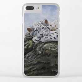 Blue Eyes by Teresa Thompson Clear iPhone Case