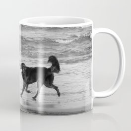 Playing Fetch Coffee Mug