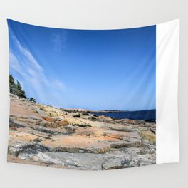 The Schoodic View of Maine Wall Tapestry