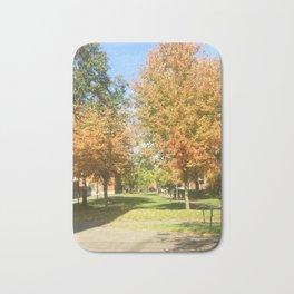Fall at Harvard Bath Mat