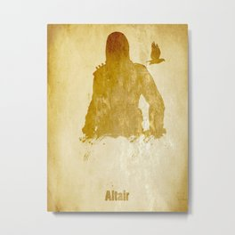 Altair from Assassin's Creed Metal Print