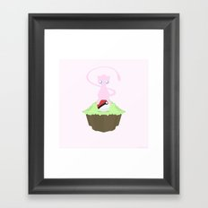 Mew Framed Art Print