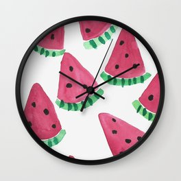 One In A Melon Wall Clock
